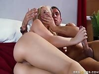 Madison Ivy playing with his big dick