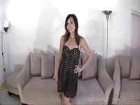 Sexy Talia shows her sexy body