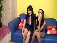 Amia Moretti and her mom getting fucked