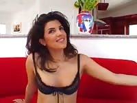Pretty persian babe Diana fucked hard by a well hung guy