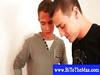 Bisexual male models in mmf scene