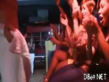 Male strippers seducing chicks