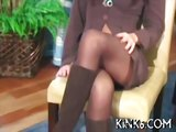 Minx in a pantyhose