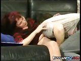 Redhead russian mom fucked by a dude