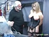 Busty slave punished in the dungeon