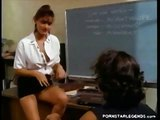 Kinky teacher fucked on her desk