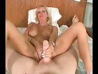 Mature Mom Having Sex With Fat Dude