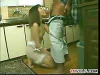 Asian Teen Girl Sucking And Fucking