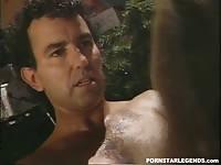 Classic porn star gets anal sex fucking in a threeway