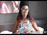 Black Teen Suck In Her Casting Interview