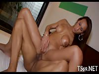 Sexy Tranny Suck And Ride On Her Mans Dick