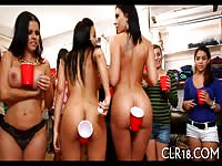 Naughty Babes Having Good Time At The Party