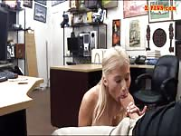 Pawn Guy Fuck A Boobylicious Blonde Chick