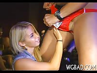 Young babes first stripper cock