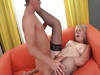 Dude Penetrating A Granny