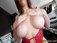 Massive Tits Tattooed Chick Pussy Banged