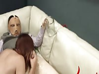 Extremely hardcore BDSM rope copulating with anal action