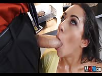 Priya Price seduce her boss and fucked at the office