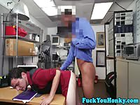 Amateur analed by a black cock