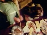 Vintage sex orgy at the dinner table