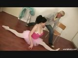 Busty ballerina gets drilled