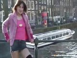 Exhibitionist in Amsterdam